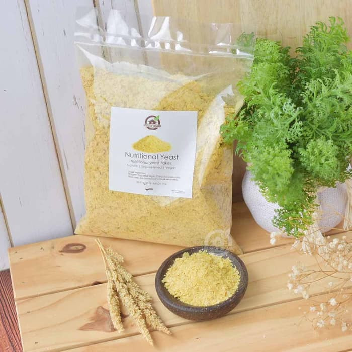 Natural Nutritional Yeast - 250 Gr
