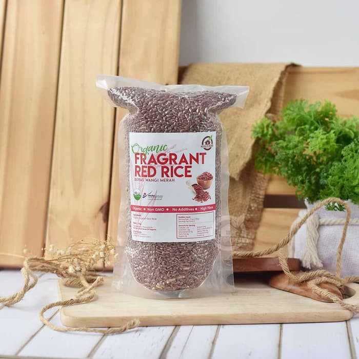 House Of Organix Fragrant Red Rice ( Beras Merah Wangi ) 1 Kg