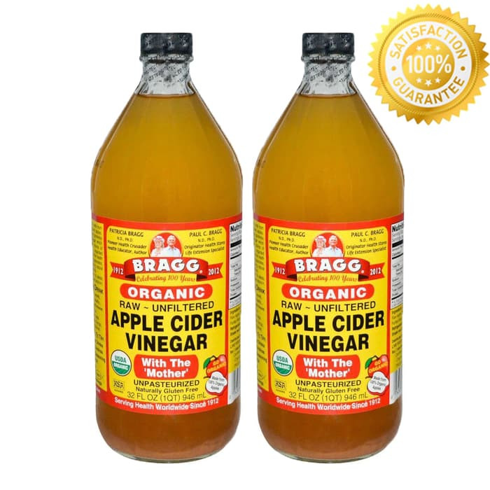 Bragg Apple Cider Vinegar 946ml Pack of 2