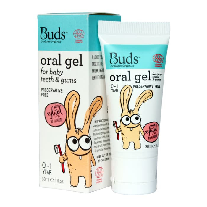 Buds Organic Baby Oral Tooth Gel 30 ml