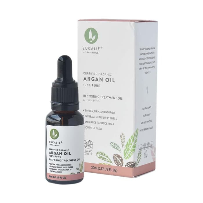 Eucalie Certified Organic 100 % Argan Oil