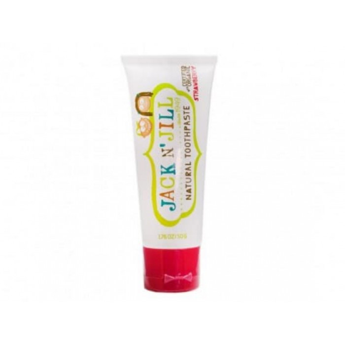 JACK N' JILL Natural Toothpaste Strawberry - 50 Gr