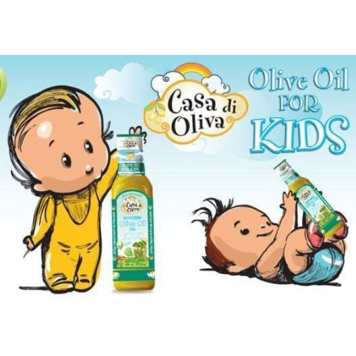 Casa di Oliva - Extra Virgin Olive Oil for Kids (EVOO) 250ml