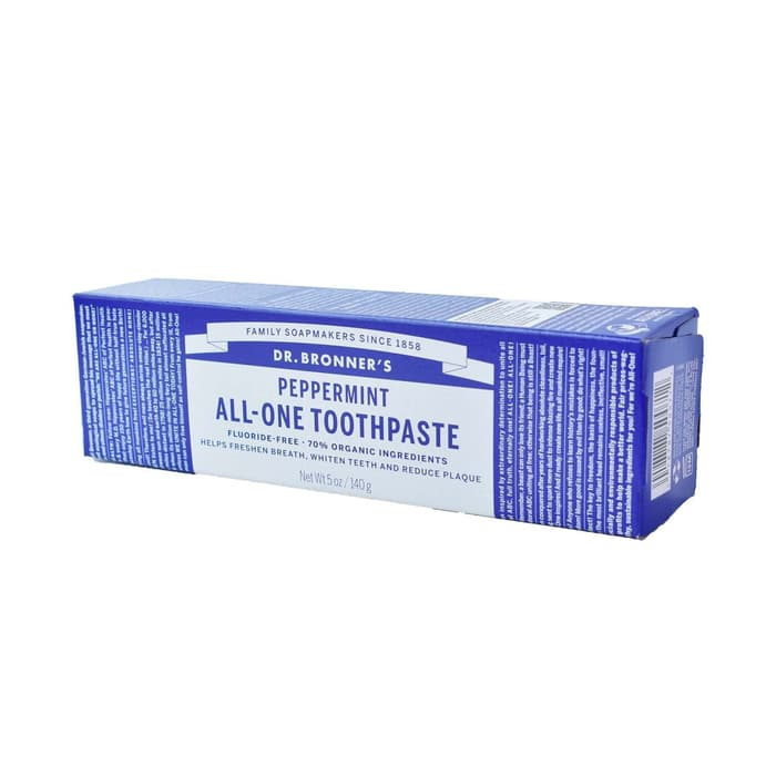 Dr. Bronners All One Peppermint Toothpaste 140 Gr