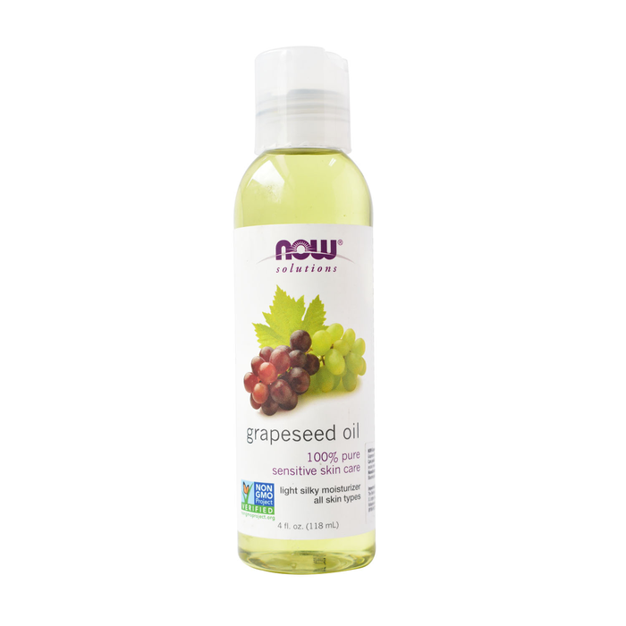 NOW® - Grapeseed Sensitive Skin Care Oil - 118 ml