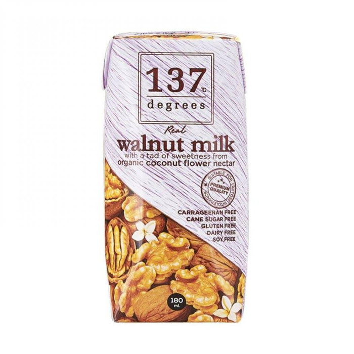 137 Degrees - Walnut Original Milk 180ml