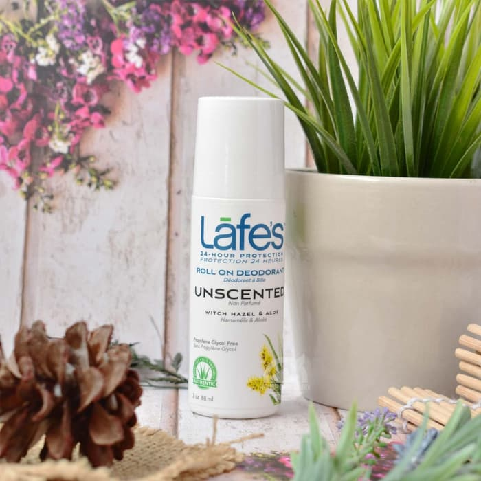 LAFES - Natural Deodorant Roll On Unscented 71 Gr