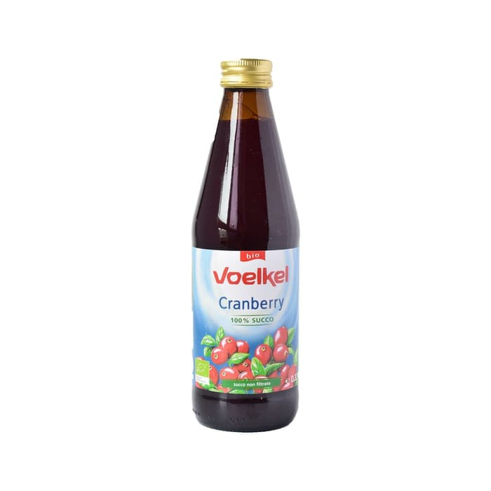 Voelkel Pure Organic Cranberry Juice 330 ML