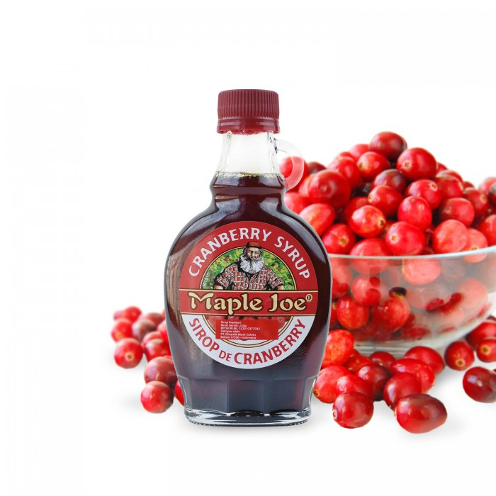 Maple Joe Cranberry Syrup 250 Gr