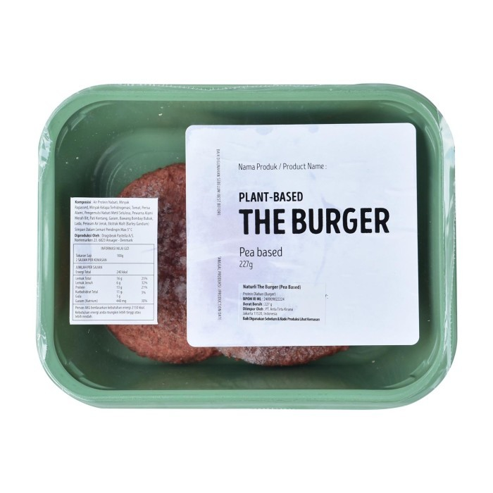 Naturli Pea Plant Based Minced Meat - Burger 277 Gr