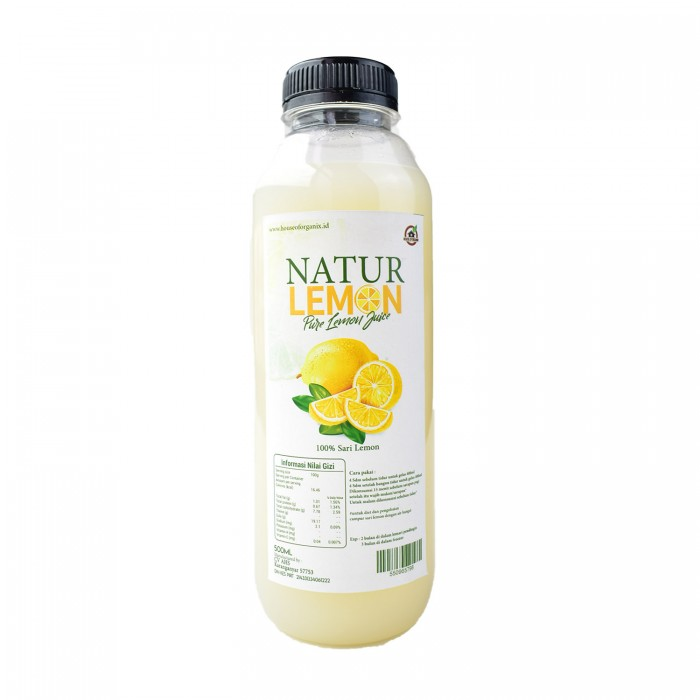 House Of Organix Natur Lemon 500 Ml