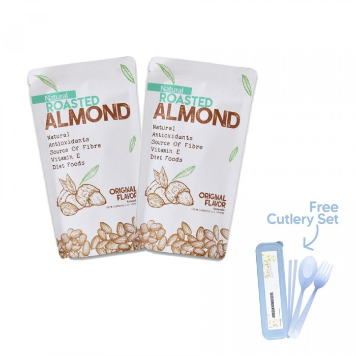 House Of Organix Pack Of 2 Roasted Almond 250 Gr
