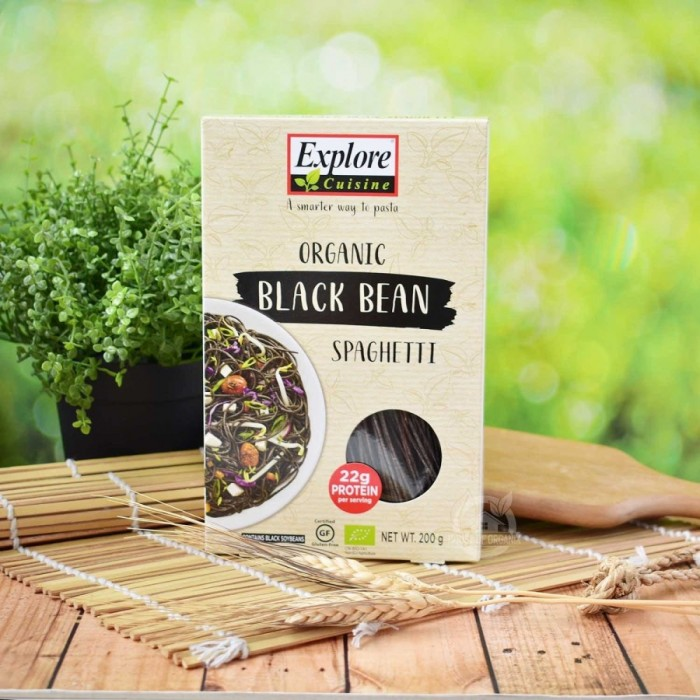 Explore Cuisine 200 Gr - Blackbean Spagh