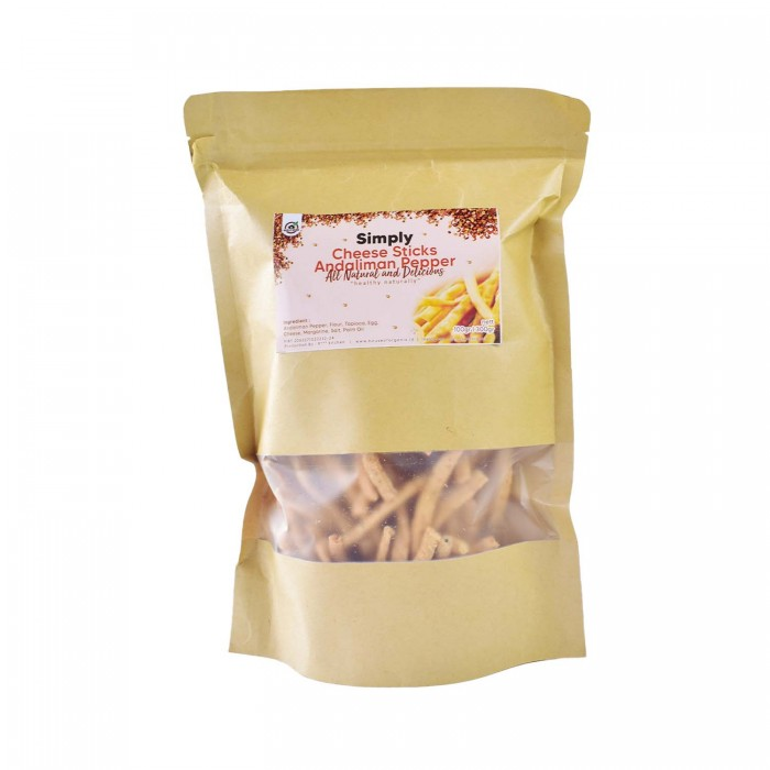 House Of Organix Simply Cheese Sticks Andaliman Pepper - 100 Gr